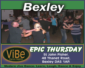 Modern Jive Dance Classes Bexley