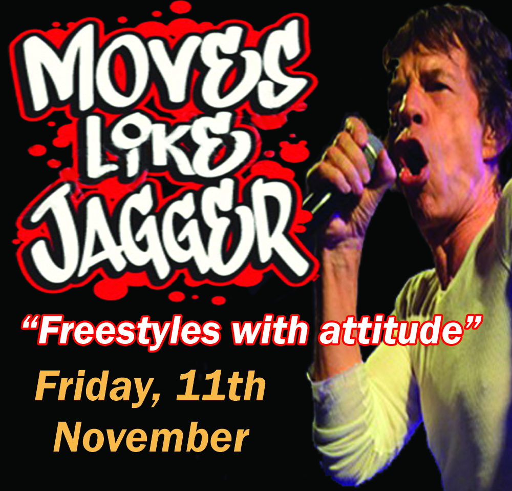 Moves like Jagger Freestyle
