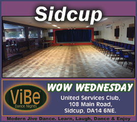 Modern Jive Dance Classes Sidcup